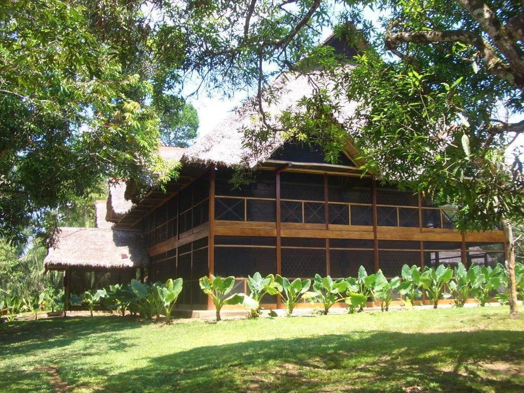 The main lodge of Inkaterra's Hacienda Concepcion