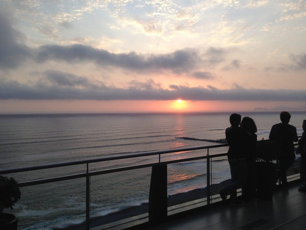 Sunset at Miraflores